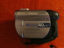 SONY Handycam,40x optical zoom Carl Zeiss Lens