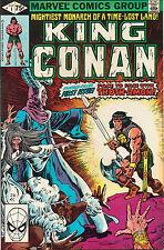 King Conan #1 - John Buscema Cover Art - (Grade 9.2) 1980
