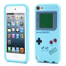 Coque couple bleu clair aspect Game Boy pour iPod Touch 5