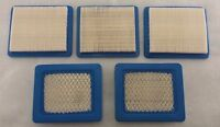 5 PACK Replacement Air Filter for Briggs & Stratton 491588S 491588