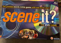 Scene It ? The DVD Trivia Game with real movie clips by Matel