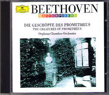 ORPHEUS CHAMBER ORCHESTRA: BEETHOVEN Die Geschöpfe des Prometheus (Ballet) DG CD