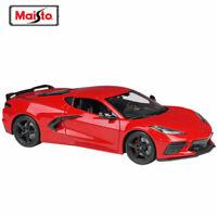 Maisto 1:18 2020 Chevrolet Corvette Stingray Coupe C8 Diecast Model Racing Car