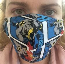 Batman Washable Facemask. (Handmade in Ireland)