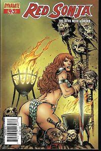 2005 Dynamite - Red Sonja She-Devil with a sword #43 Batista Variant (VF/NM)
