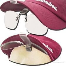 Snowbee Cap-Peak Clip-On Magnifier Glasses +2.5 Magnification