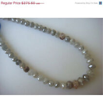 Natural 2 Beads Rough Natural Raw Diamond Faceted Loose Gemstone 3mm GK6