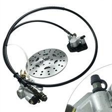 New listing Rear Hydraulic Brake Master Cylinder Caliper Assembly+Disc Rotor for ATV Go-kart