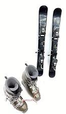 SNOWBLADE PACKAGE, New 99cm FiveForty Ski Blades, Used Ski Bindings, boots