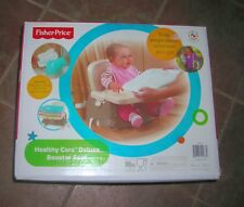 Fisher Price Healthy Care Deluxe booster seat with feeding tray, snap on lid
