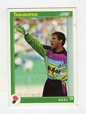 figurina card - CALCIATORI CARD SCORE 1993  - numero 375 BARI TAGLIALATELA
