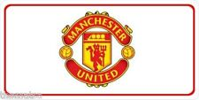 MANCHESTER UNITED ENGLISH FOOTBALL CLUB CAR USA MADE METAL LICENSE PLATE