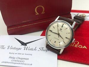 Vintage Mens Omega Seamaster Watch Cal.520 1960