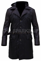 Assassin's Creed Syndicate Jacob Frye Beak Hooded Leather Trench Coat - BIG SALE