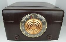 Vintage Admiral Radio Phonograph Record Player Model 5Y22N Art Deco Parts Repair