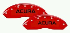 Acura Brake Caliper High Temp Vinyl Decal Sticker Set Of 6 (ANY COLOR)