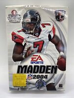 Madden NFL 2004 (PC CD ROM, 2003) Complete W/Box B573