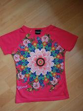 Desigual Mädchen T-Shirt Gr. 128 pink, wie neu