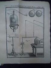 PHYSIQUE 1753 !! NOLLET ELECTRICITÉ des CORPS PHYSICS SCIENCE ELECTRICITY PHYSIK