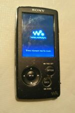 Sony Walkman NWZ-A816 Black 4GB Digital Media Player