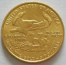 1987 UNITED STATES of AMERICA  1/10 OZ GOLD $5 DOLLARS EAGLE BULLION COIN