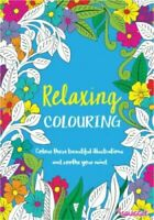 2 x Relaxing Stress Relieving Colouring Books for Adults - Joyful and Relaxing