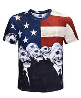 United Slaves of America T-Shirt (all over graphic funny t shirt)