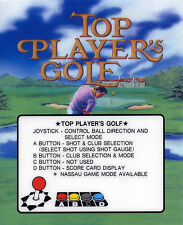 Top Player's Golf Neo Geo Arcade Marquee
