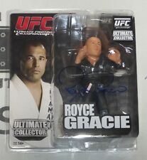 Royce Gracie Signed UFC Round 5 Action Figure PSA/DNA COA Ultimate Autograph 1 2