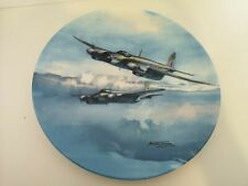 More details for 1990 coalport plate out on exercise from reach for the sky  series