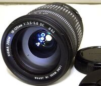 Sigma AF 18-125mm f3.5-5.6 DC Lens 4/3 Mount Evolt Olympus E330 E500 Four Thirds