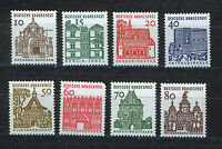 ALEMANIA/RFA WEST GERMANY 1964 MNH SC.903/912 Castles and Buildings