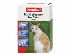 Beaphar Multi-Wormer For Cats Kills Roundworm Tapeworm