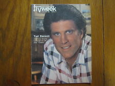 June 8, 1986  Chicago  Tribune  TV Week (TED  DANSON/CHEERS/NICHOLAS  COLASANTO)