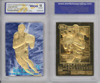 1996 97 KOBE BRYANT SKYBOX EX-2000 Credentials GOLD ROOKIE Insert Card Graded 10