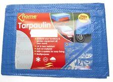 6 X 4ft Waterproof Ground Cover Sheet Camping Tent Tarpaulin Tarp Lightweight