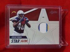 2011 Absolute Memorabilia Star Gazing Materials Prime Jordan Todman /50 CHARGERS