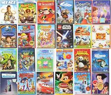 Kids Children's DVD's Disney Dreamworks Cartoons Wholesale Multi Buy Discount