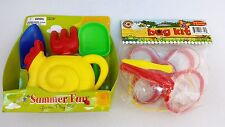 Summer Fun Garden Play Set & Bug Kit -Kids Children's Shovel Water Pail Ages 5+