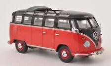 PREMIUM CLASSIXX 13860, VW T1 SAMBA BUS, RED / BLACK, 1:43 SCALE