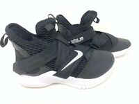 NEW! Nike Youth Boy's LeBron Soldier 12 Athletic Shoes Blk/Slv Size:4.5 153H tz