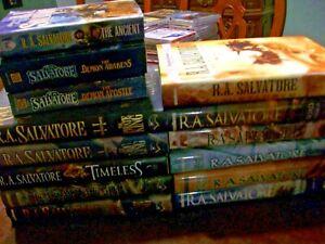 The R.A. SALVATORE FANTASY COLLECTION - 14 BOOKS - Forgotten Realms & More
