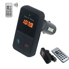 Bluetooth Sans Fil Voiture MP3 Lecteur Radio FM transmetteur+USB carte SD