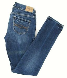 Abercrombie and Fitch Womens Juniors Size 0R Perfect Stretch Skinny Jean