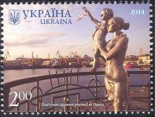 Ukraine 2014 Sailors Monument/Statue/Mother/Child/Harbour/Ships/Boats 1v n44025