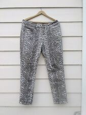 *APHRODITE* LADIES LEOPARD PRINT PANTS, *USA, MADE IN L.A./SIZE XL