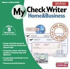 MY CHECK WRITER Home & Business  Check Writing Software  Brand New