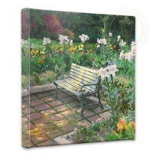Thomas Kinkade Eternal Springtime 14 x 14 Gallery Wrapped Canvas