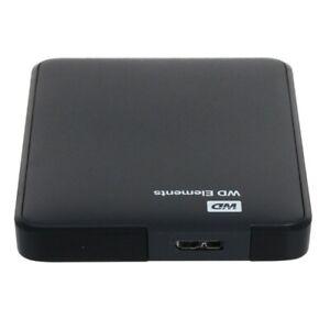 1TB Usb-Iii Western Digital WD Elements External Hard Drive USB3.0 Black