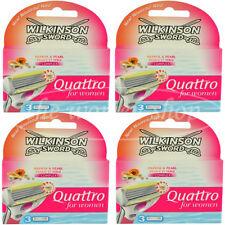 12 Wilkinson Quattro for women Rasierklingen Papaya Pearl Neu Original verpackt